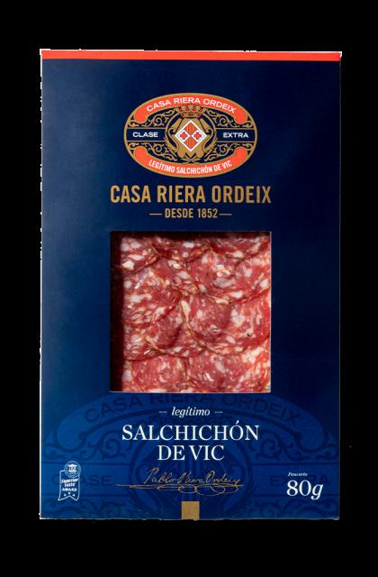 Vic Salchichón 'sliced'