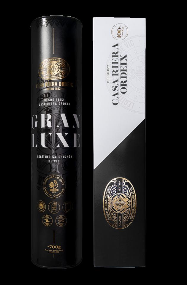 Pack Gourmet '165 años': Salchichón Gran Luxe 'Mini' + Salchichón Trufado 'Mini'
