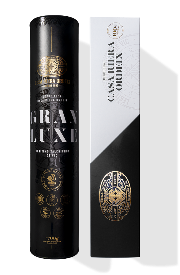 Pack Gourmet '165 years': Gran Luxe 'Mini' Salchichón + Truffle Salchichón 'Mini'