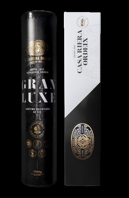 Pack Gourmet '165 ans': Saucisson Gran Luxe 'Mini' + Saucisson Truffé 'Mini'
