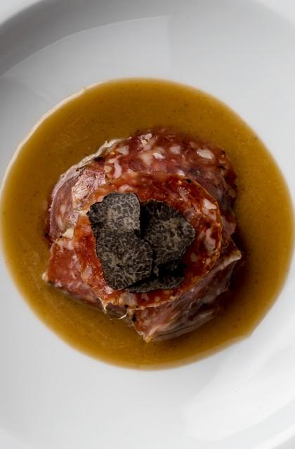 Truffle Salchichón 'Sliced'
