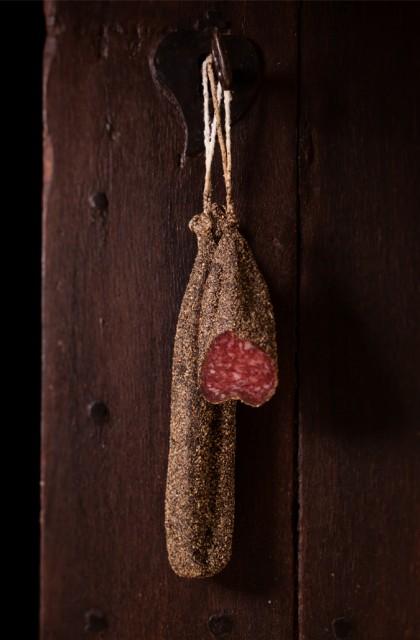 Salchichón de Payés 'a la pimienta'