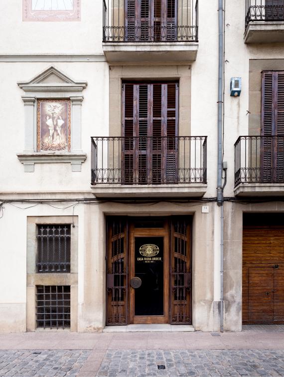 Casa Riera Ordeix entrada
